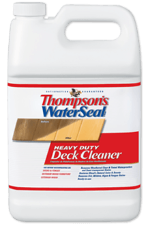 Thompson 39 S Waterseal Heavy Duty Wood Deck Cleaner