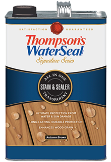 Thompson S Waterseal Signature Series Transpa Stain Sealer